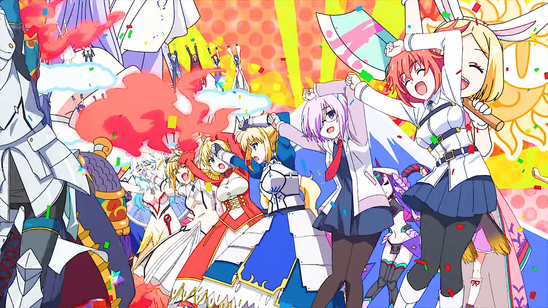 Fate/Grand Carnival, just one part of the ever-growing Nasuverse