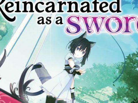 Reincarnated as a Sword Light Novels Pick Up Anime Series
