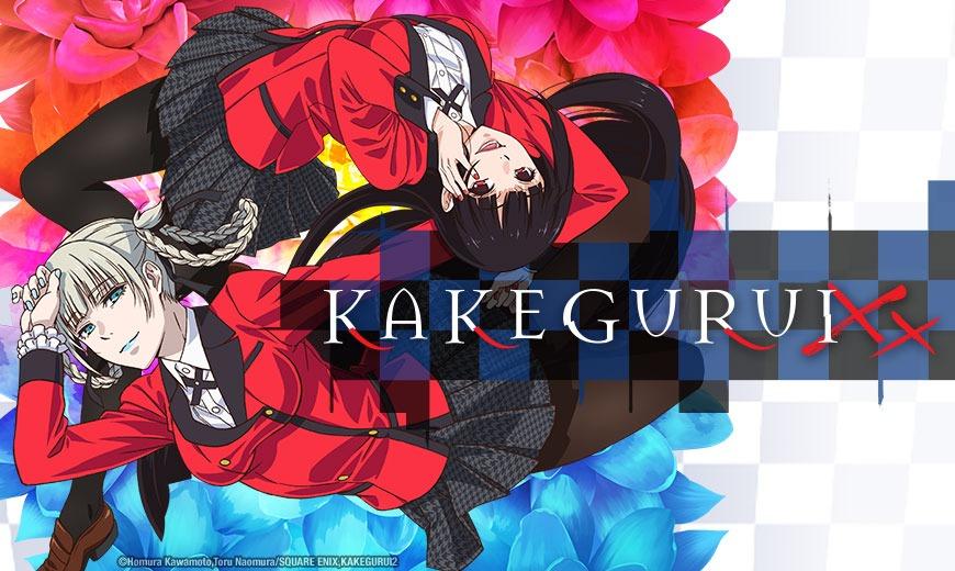 Sentai Filmworks Licenses Kakegurui XX Anime for Home Video