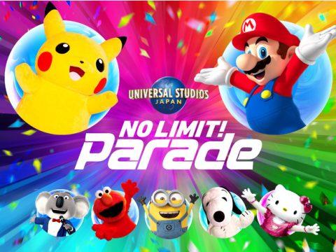 Pokémon and Super Mario Coming to No Limit! Parade at Universal Studios Japan