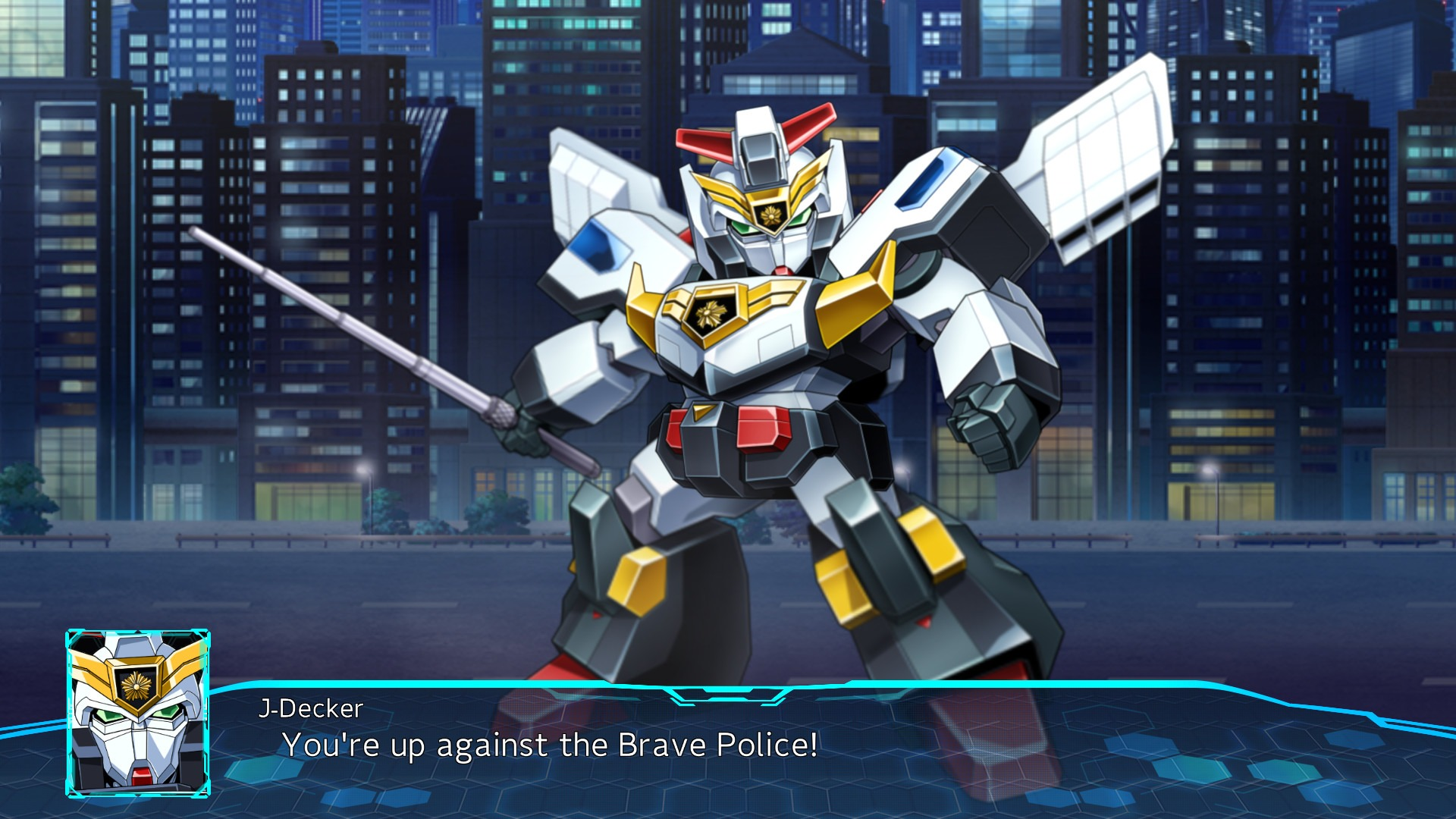 Super Robot Wars is a great place to learn about new (and classic) mecha anime