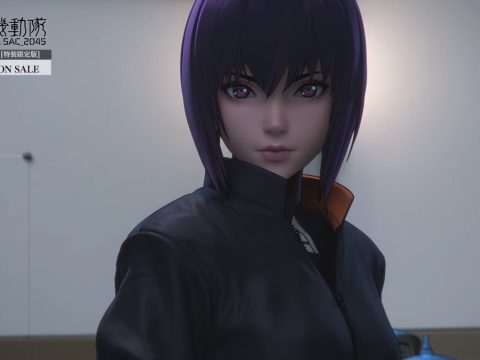 Ghost in the Shell: SAC_2045 Movie Trailer is All About Motoko